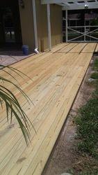 Resurface deck