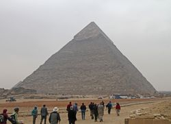 Giza : Pyramid of Khafre