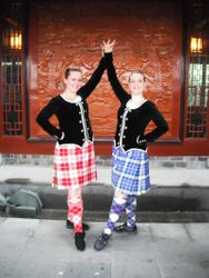 Bytown Highland Dancers in China!