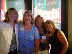 Debbie Gore Swedberg, Sherry Seward Gomis, Jacque Farrell Tate and LeAnn Argenta Eckhart