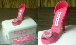 Manolo Blahnik Shoe Cake2 (SP184)