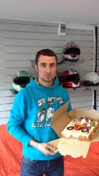 Motociklistu torte