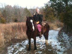 Winter Ride at LBJ Grasslands