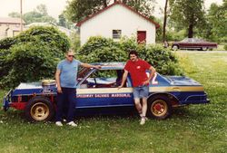 Dave White Sr and Dave Jr