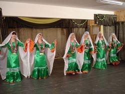 Nubian dance, Group performance