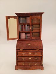Book case pn desk