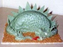 Sleeping Dragon Cake