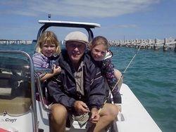 CULLEEN'S FATHER & MY 2 GRAND CHILDREN AUSTYN & GABRIELLA