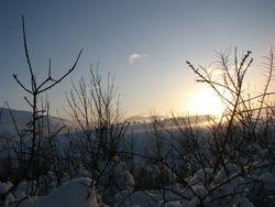 Jan 10, sunset snow 4