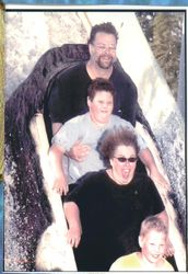 Great America, Loggers Run, August 19, 2002