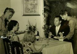 Julia Lundgrens konditori 1956