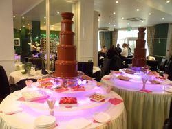 Park grill restaurant Wakefield Chocolate fountain hire