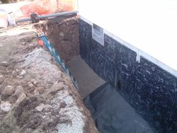 Poured Wall Waterproof