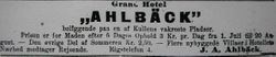 Grand Hotell Ahlbeck 1911