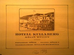 Hotell Kullaberg 1929