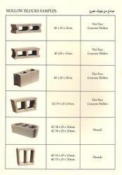 Hollow Blocks Samples
