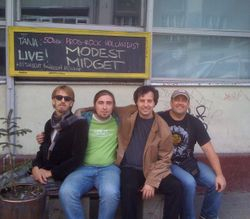 During the Baltic Tour - August 2010