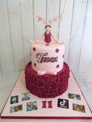 Ballet themed Birthday Cake