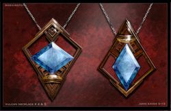 Vulcan jewelry #4-5, 5 is the approved piece