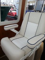 CUSTOM DESIGNED HELM SEAT