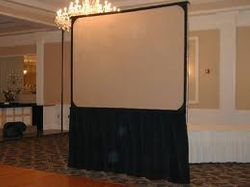 video Screen Front or Rear Projection