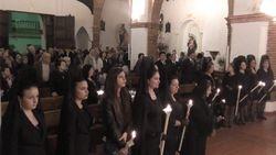 Comares Church Service