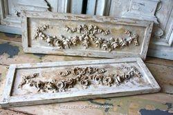 SOLD #19/203BA Ornate Panels Louis XVI SOLD