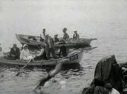 Badliv vid Kullen 1909