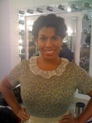 Backstage at Porgy and Bess