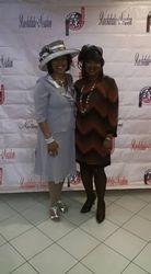 Section Members Katrina Young & Queen Washington