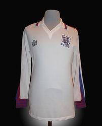 Admiral Match Worn England Viv Anderson Shirt