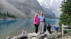 Lynda and Randy at Moraine Lake