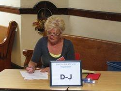 Jan working hard