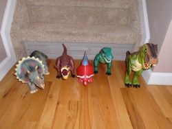 Large Assorted Dinosaur Toy Figures with Sounds- 5 Large - $30