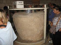 Tinaja de piedra en Cana