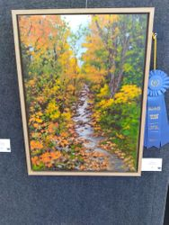 First Place Painting - Maurine Harris