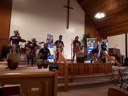 7 wells African children's choir drums