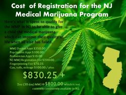 Cost of MMJ Card in NJ