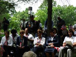 Memorial Day Ceremony at the Puerto Rico Medal of Honor Grove