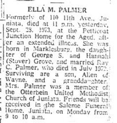 Palmer, Ella Grove 1973