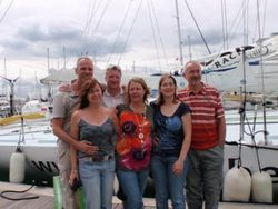 Our last weekend in Gosport with chums