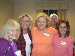 Mary Robbins, Janie Etheridge, Judy King, Me