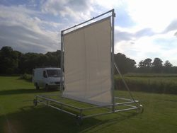 Cricket sight screen