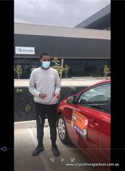 Pass First Time at Coolaroo VicRoads !! Well Done Tumsa | Sunbury | East Melbourne | Docklands | Kew