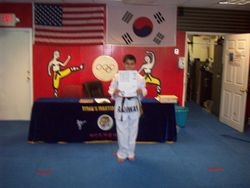 Saud Shah black belt class of 2011