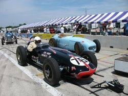 two roadsters owned by Joe Freeman