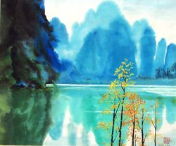 Li River , China     B