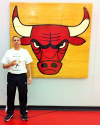 Chicago Bulls Coach Andy Greer