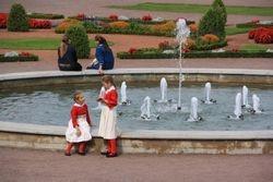 Fountain at Kadriorg Palace, Tallinn, Estonia