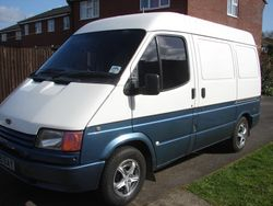 Early 1990s panel van